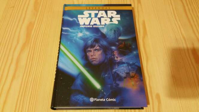 Imagen comic star wars imperio oscuro nuevo
