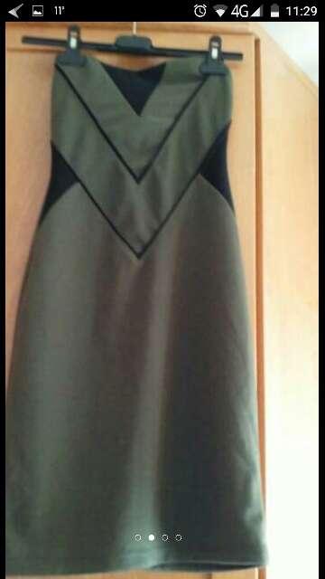 Imagen producto Vestido Bershka talla s con etiqueta 3