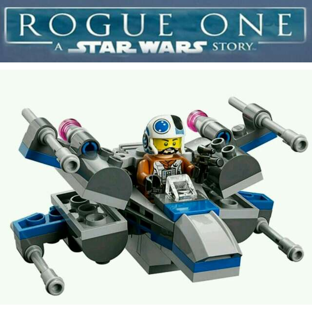 Imagen Starwars x-wing micro-figthers