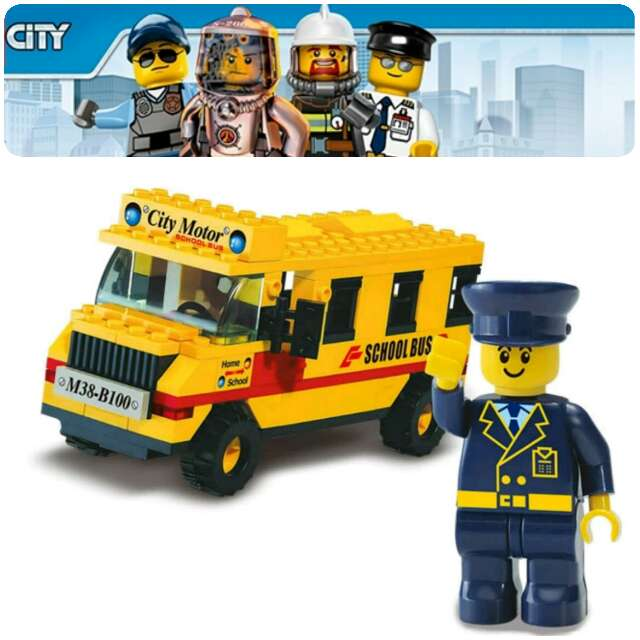 Imagen City bus escolar Metropolitano
