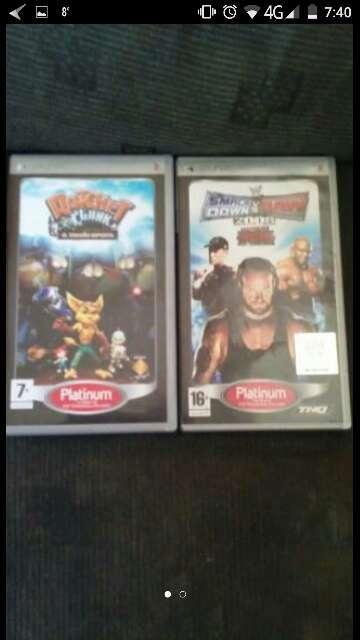 Imagen dos juegos psp