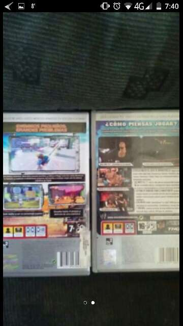 Imagen producto Dos juegos psp 2