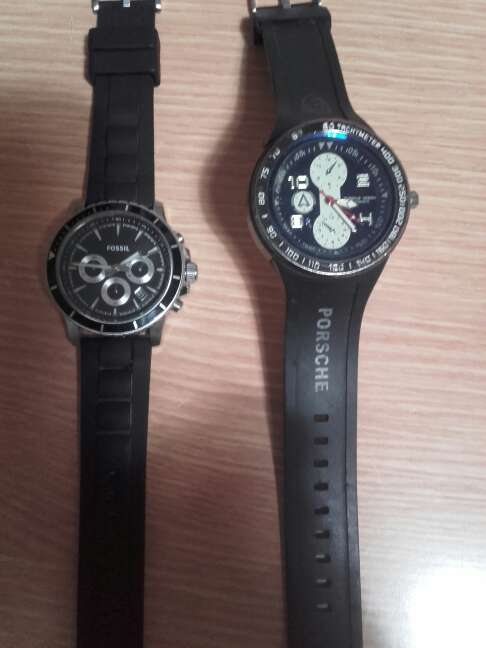 Imagen producto Relojes fossil y porshe  1