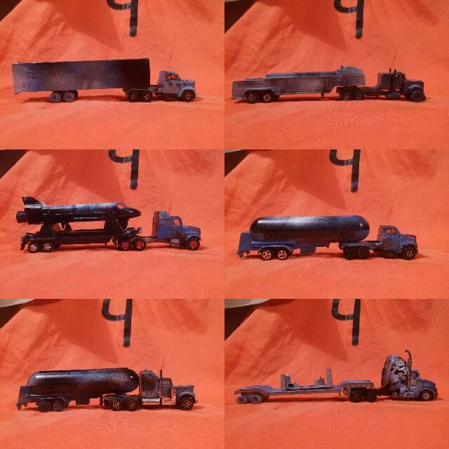 Imagen producto Gran flota de camiones 1/78 2