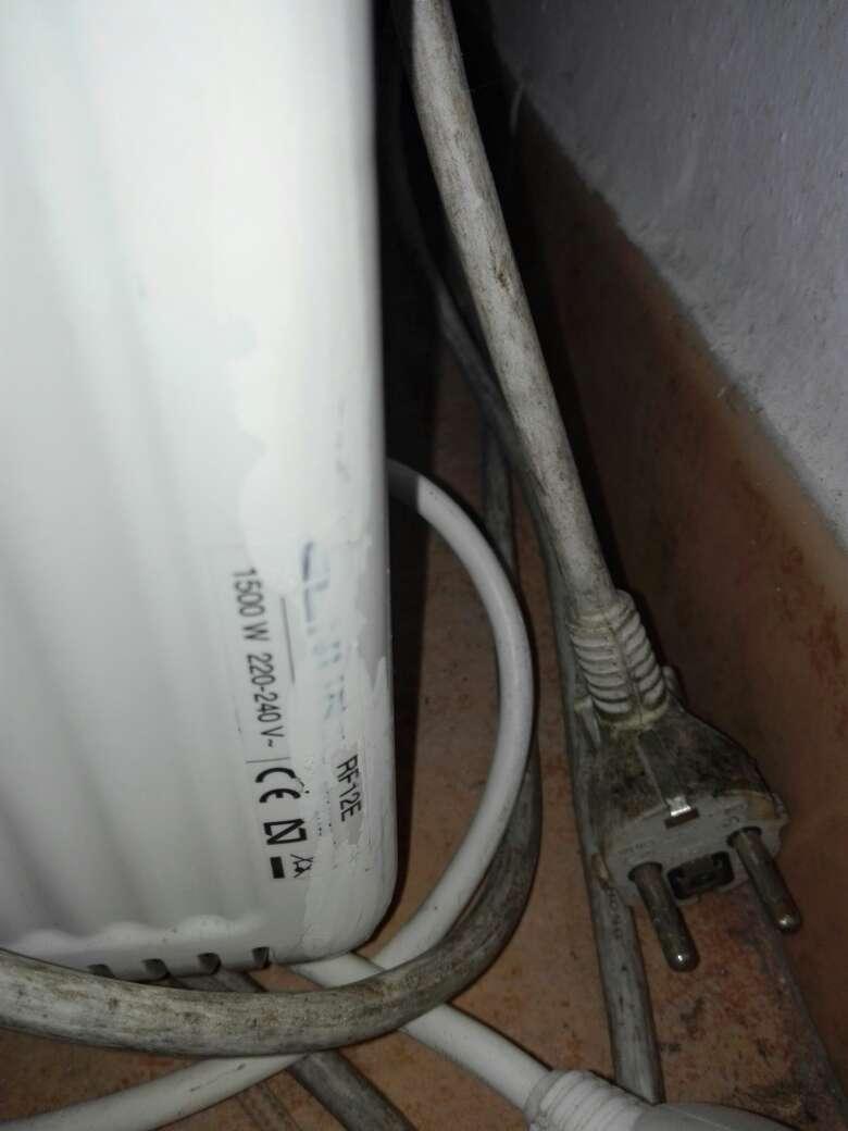 Imagen producto Radiador calor azul 1500w 2