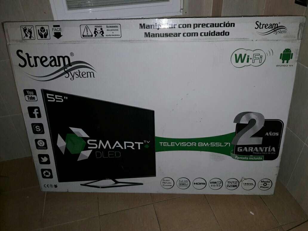 Imagen television 55 pulgadas smart tv