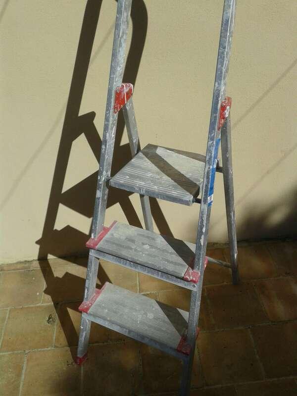 Imagen escaleras de aluminio