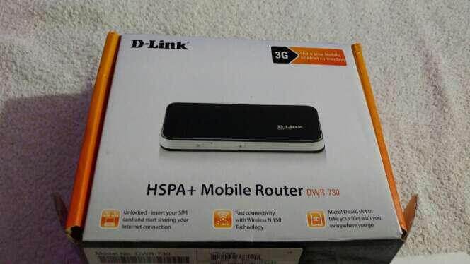 Imagen D-Link DWR-730.Mobile Router Modem