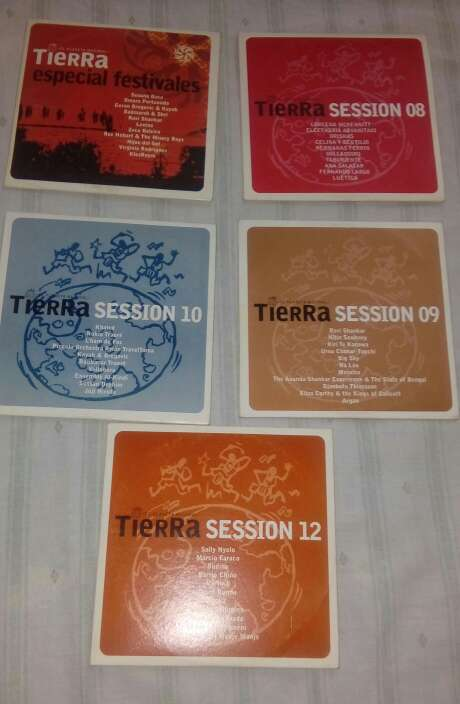 Imagen Cds de musica session tierra
