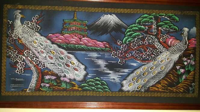 Imagen tapiz decorativo