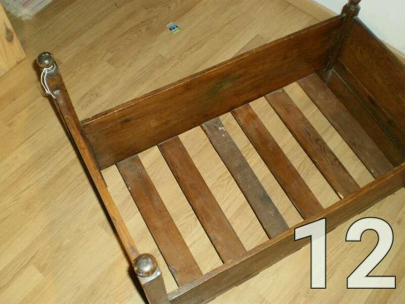 Imagen producto Cuna de madera balancín 3