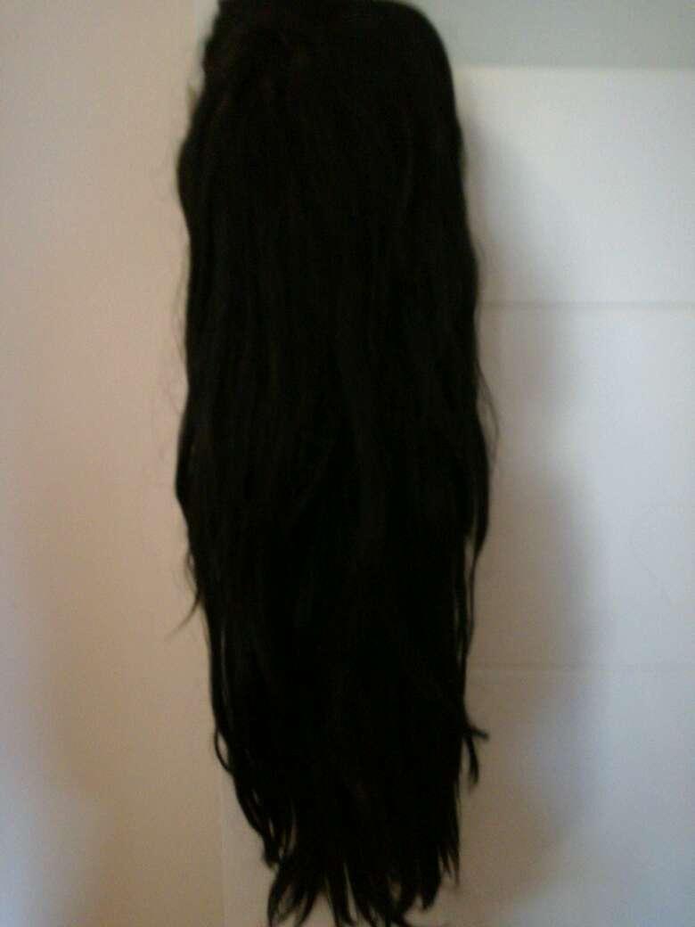 Imagen peluca negra