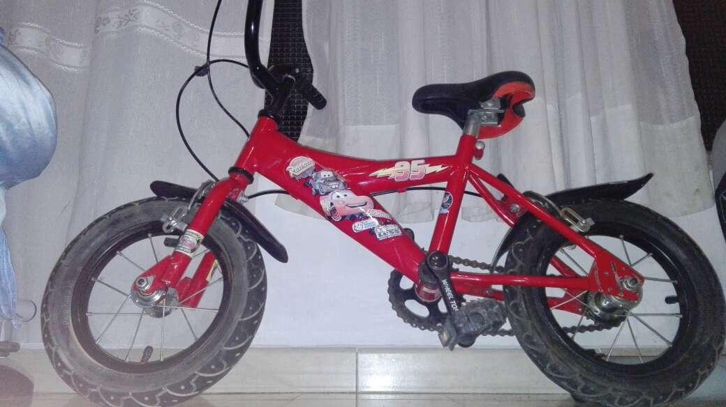 Imagen bicicleta niño cars