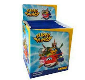 Imagen caja de Superwings Panini ( 50 sobres)