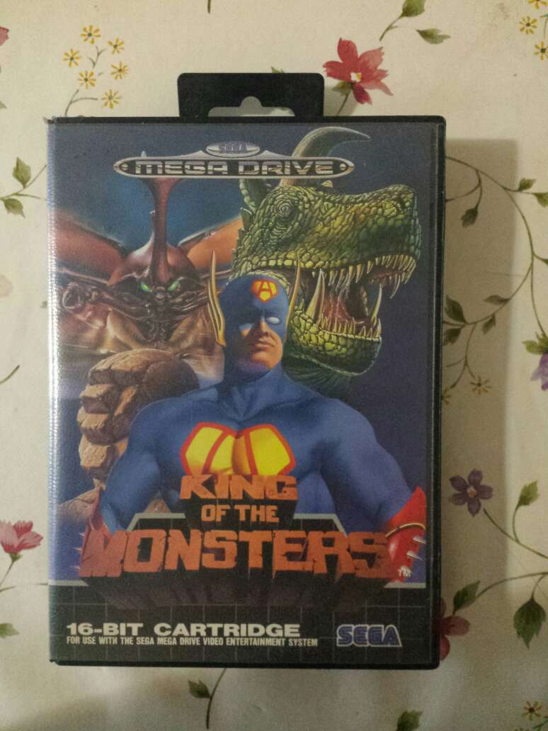 Imagen king of the monsters Megadrive sega
