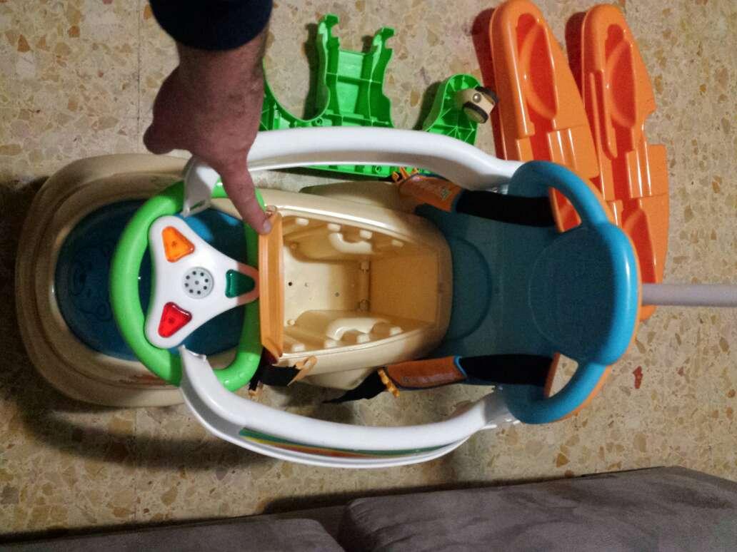 Imagen producto Correpasillos andador bebé FEBER 4 en 1 2
