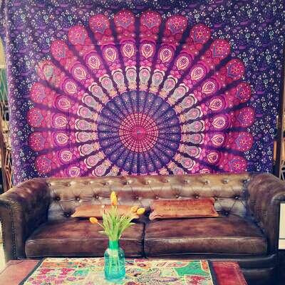 Imagen tapiz multiusos de la India