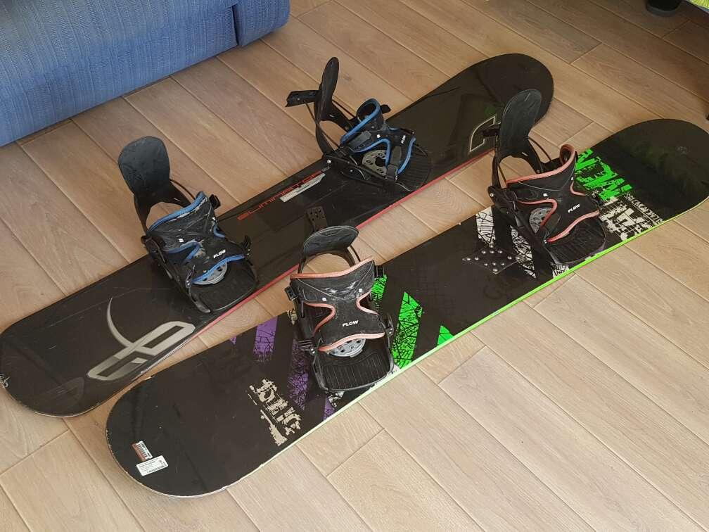 Imagen tablas de snowboard