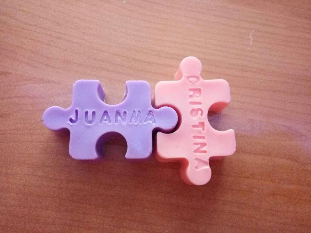 Imagen puzzle de jabon