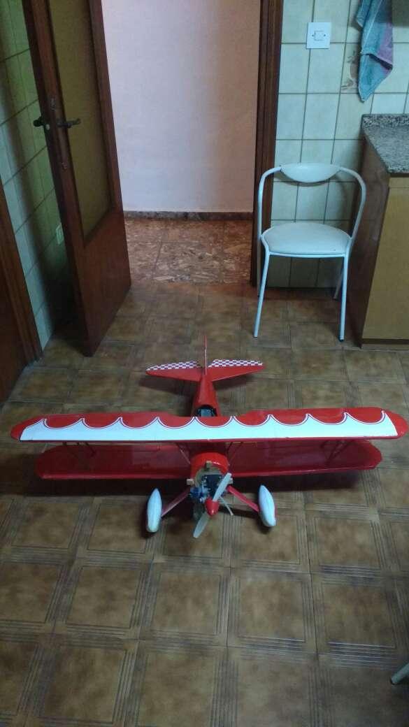 Imagen avion radio control de gasolina