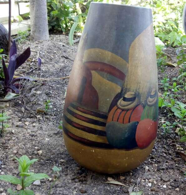 Imagen producto Jarrón grande de cerámica 3