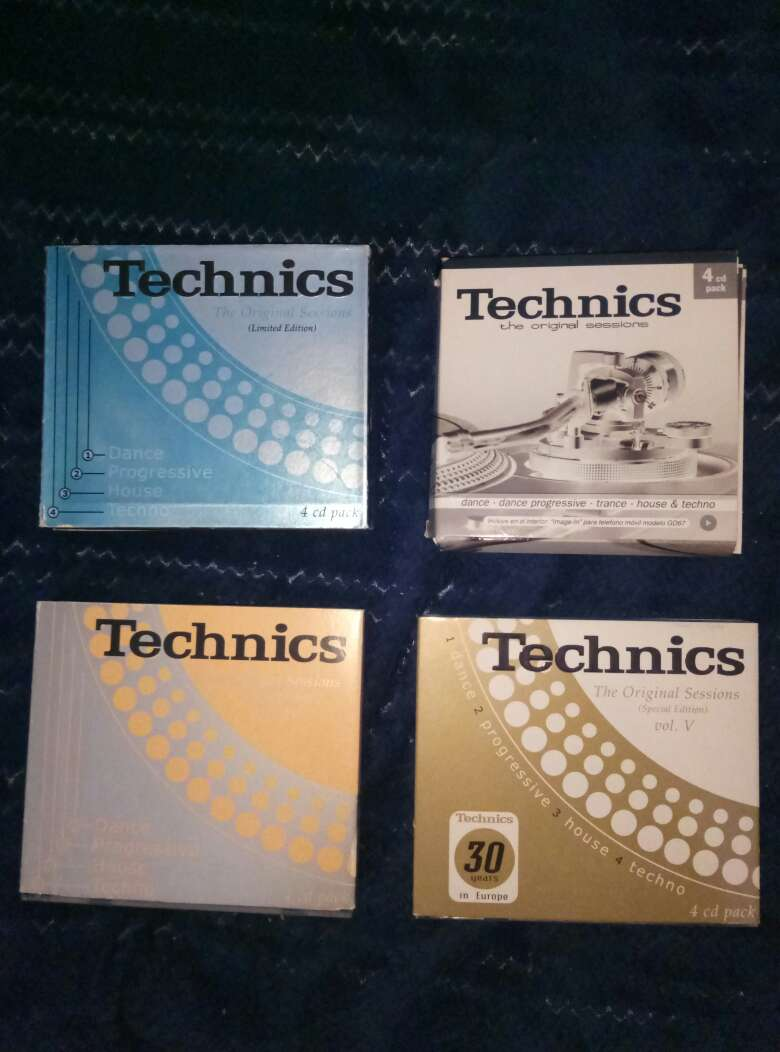 Imagen producto Pack recopilatorioTechnics 1