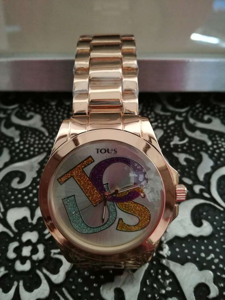 Imagen producto Reloj Tous color oro rosa 1