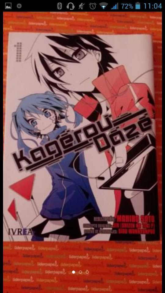 Imagen Libro/Manga Kagerou Daze
