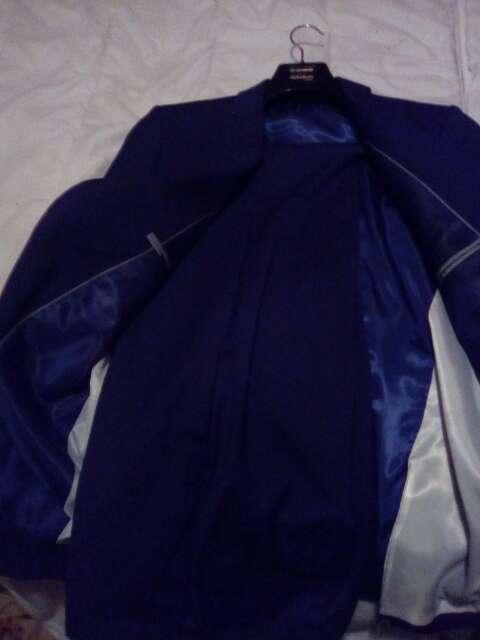 Imagen producto Se vende juego de pantalón y chaqueta nuevo azul oscuro 2