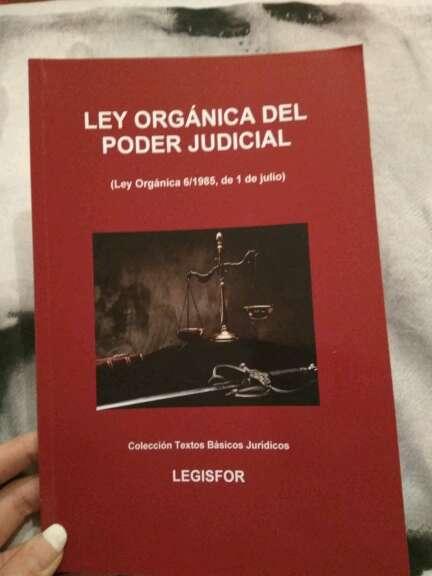 Imagen Ley Orgánica del Poder Judicial Vigente