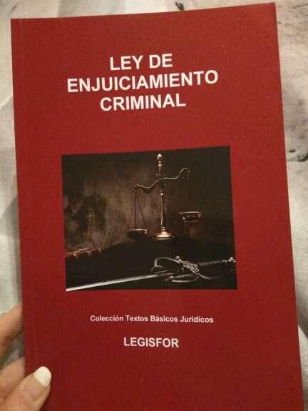 Imagen Ley de Enjuiciamiento Criminal Vigente