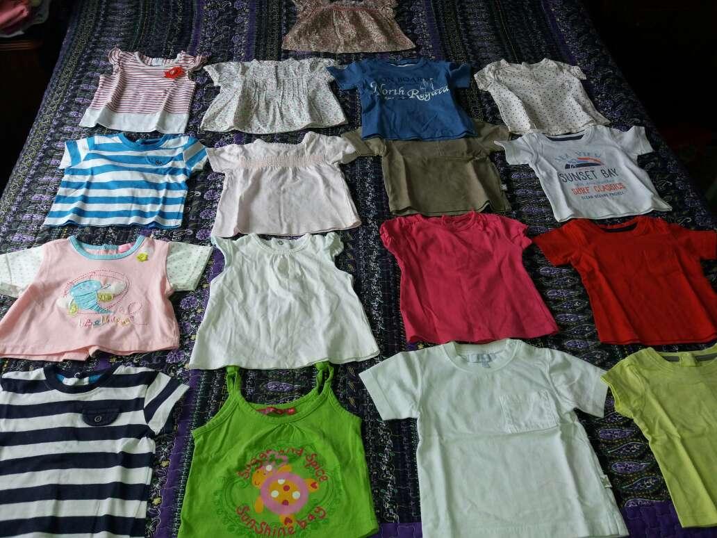 Imagen 17 camisetas bebe