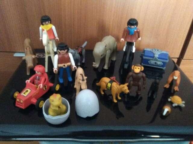 Imagen lote playmobil antiguo y mas moderno