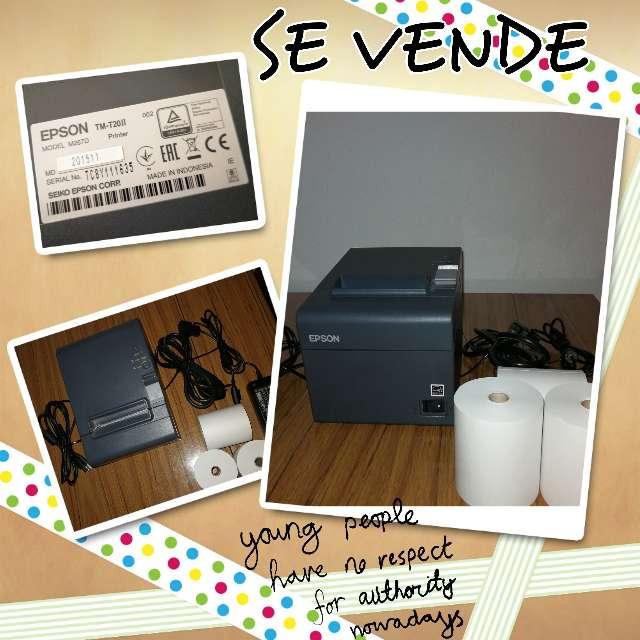Imagen Impresora Tickets Térmica