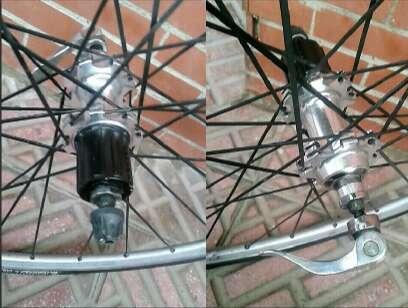 Imagen producto 2 Ruedas de bicicleta de carretera 2