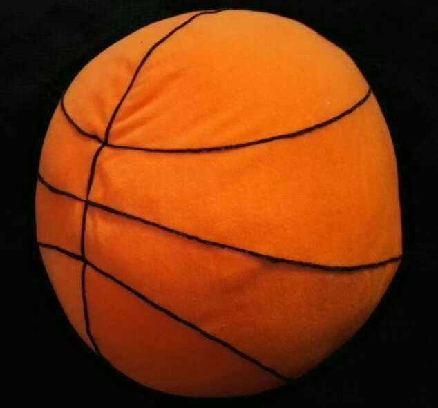Imagen Cojín grande tipo balón de basket
