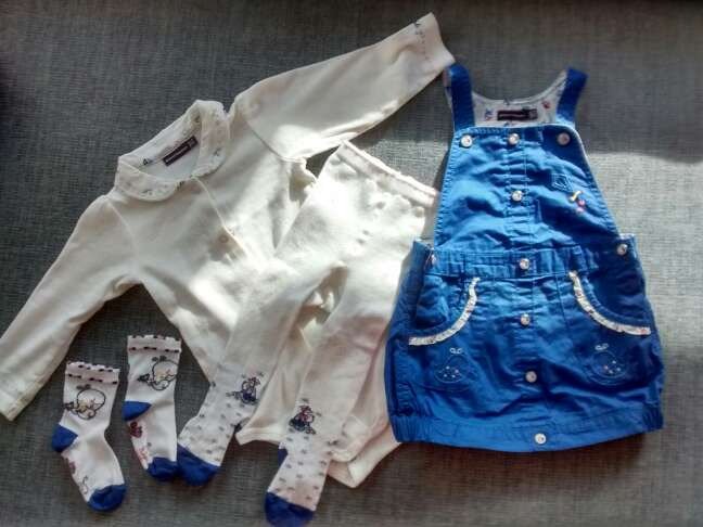 Imagen producto Ropa bebé 12 meses. pack. 2