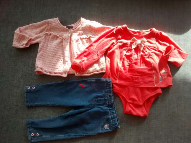 Imagen producto Ropa bebé 12 meses. pack. 3