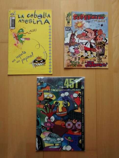 Imagen pack comics Supermaño y La Cebolla Asesina