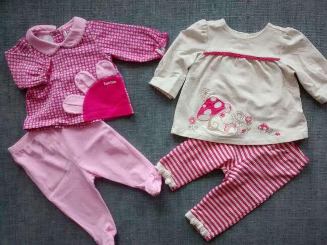 Imagen ropa bebé 1 y 1 - 2 meses. pack.