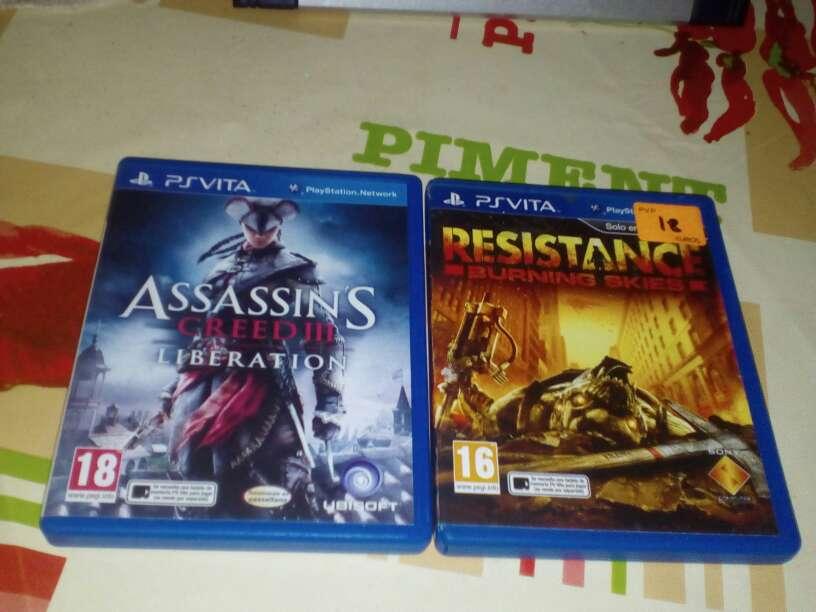 Imagen juegos de ps vita Assassin creed 3 Resistance