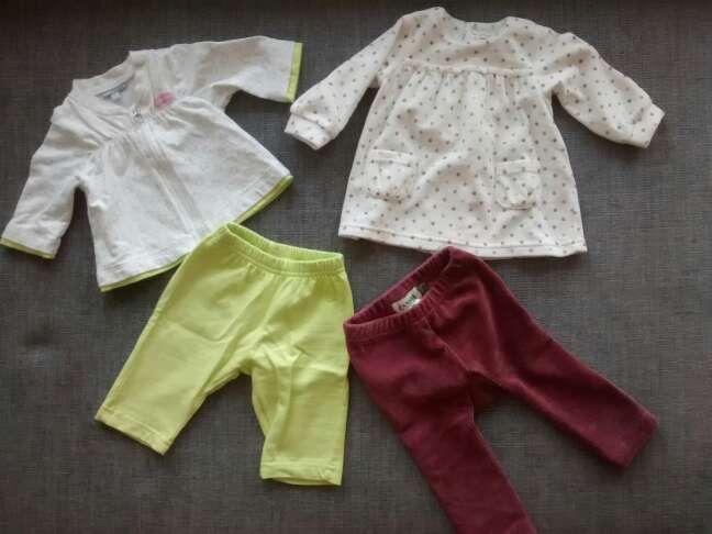 Imagen ropa bebé 1 mes y 1 - 3 meses. pack.