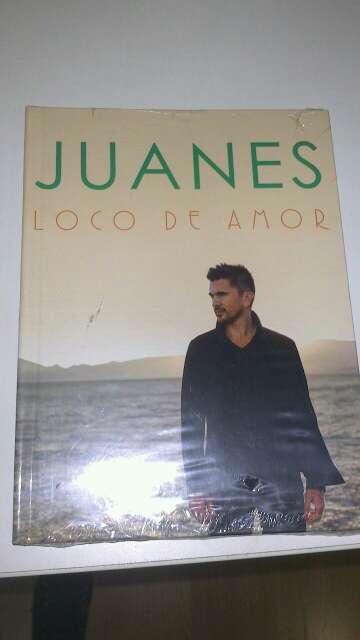 Imagen Disco libro Juanes Loco de amor, a estrenar