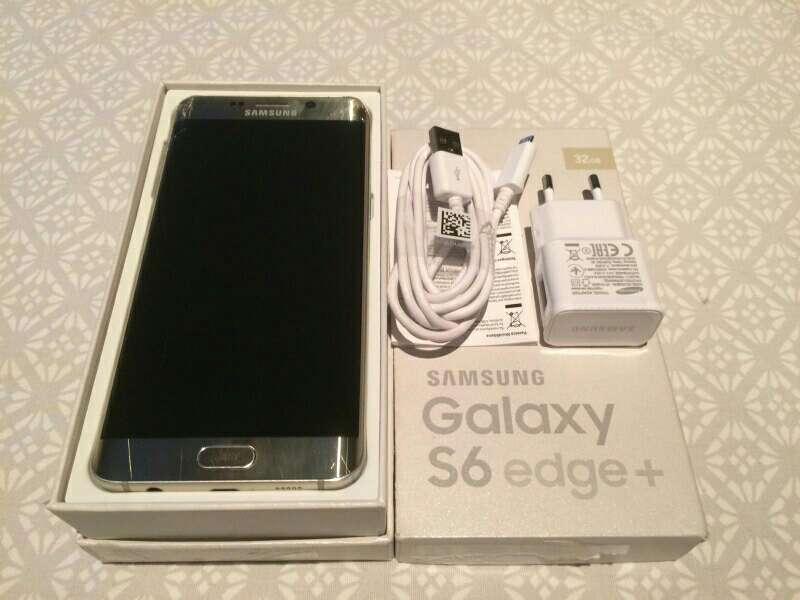 Imagen producto Samsung Galaxy s6 edge plus con tapa trasera rota 2