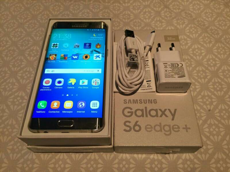 Imagen Samsung Galaxy s6 edge plus con tapa trasera rota