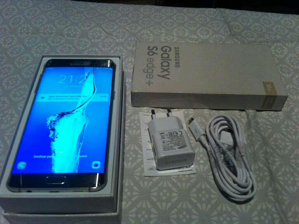 Imagen producto Samsung Galaxy s6 edge plus con tapa trasera rota 4