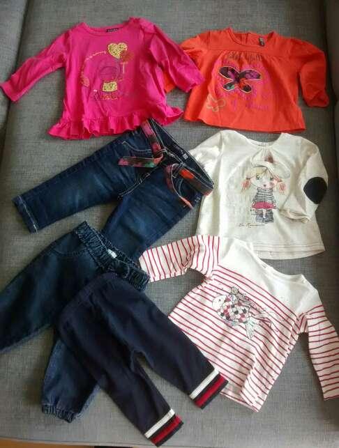 Imagen Ropa bebé 3-6, 6 y 9 meses. pack.