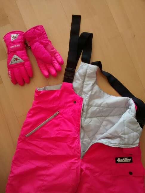 Imagen producto Buzo esquí t.14 + guantes 2
