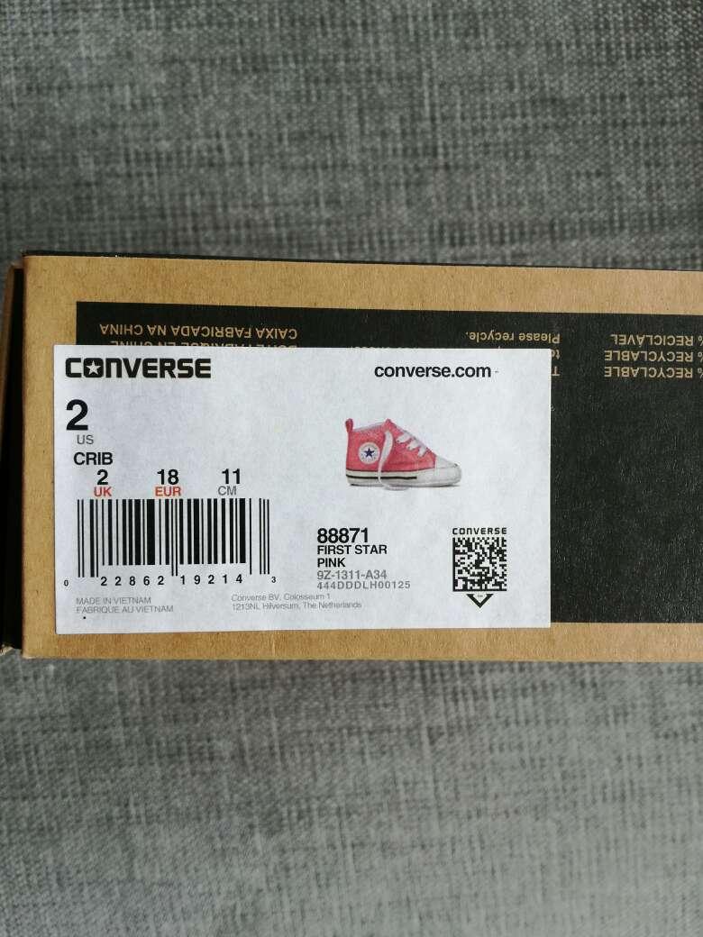 Imagen producto Zapatos bebe converse 4