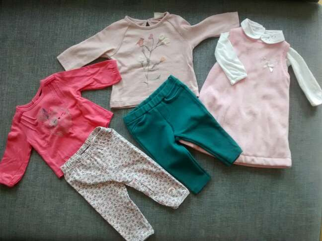Imagen producto Ropa bebé 3 - 6 meses. pack 1